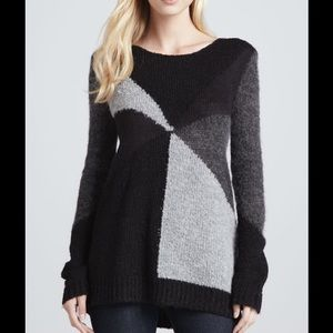Alice + Olivia Elsa Colorblock Long Sweater M@